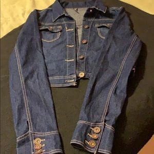 Extra-Large women's jean jacket